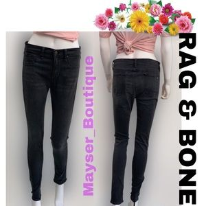 RAG & BONE Legging Jeans in premier Gray